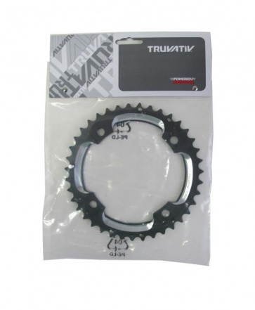 Truvativ S2-120 AL6 10SP 39T chainring LP black