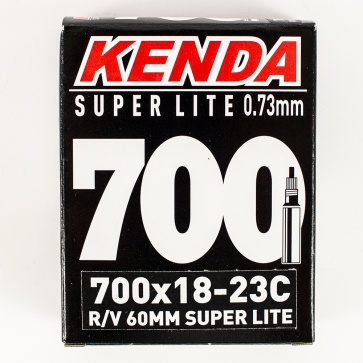 Kenda 700/18-23 Presta 60M Super Lite Not Threaded Tube
