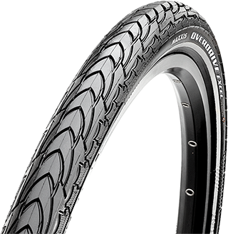 Maxxis Overdrive Excel Hybrid Bike Tyre Tire 26x1.75