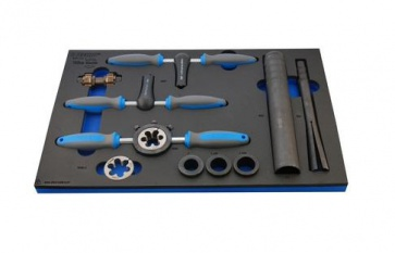 Unior bike tool set in SOS tool tray 1600SOS3