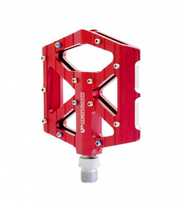 VP components VP-001 BMX Bike Pedals Red