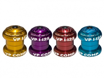 """VP components VP-A69ac bicycle headset 1 1/8"""" anodized"""