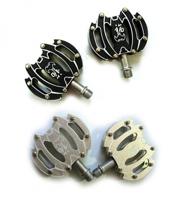 Wellgo CO40 XC bicycle flat pedals 2colors