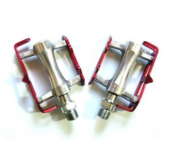 Wellgo Road Bike Bicycle pedals R025 Red