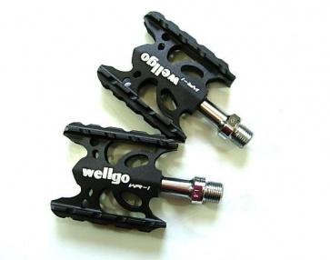 Wellgo XC WR-1 Flat Pedals Bicycle BIke Black