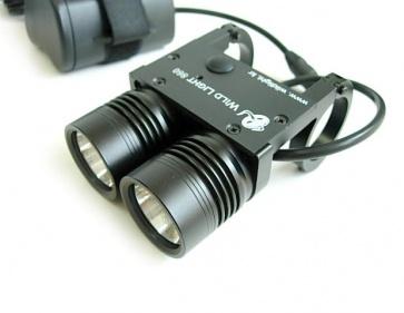 Wildlight 860 Dual LED Torch Light Front 2200Lumen