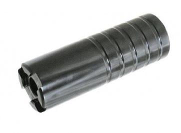 Curb Dog Peg Big Jammy 14mm Plus 3-8 Black Pair