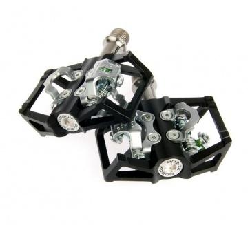 Xpedo Baldwin Ti Cleat Pedals Black