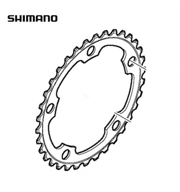 Shimano FC-5750 34T Road Bike Compact Chainring Black