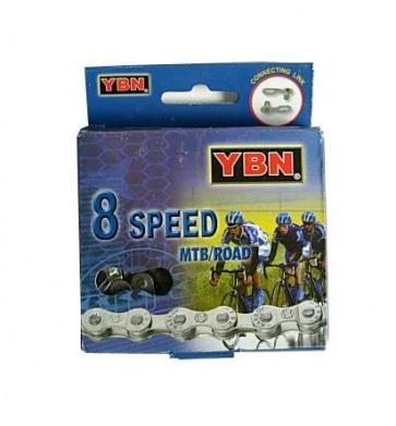 YBN 8 speed chain road mtb bicycle bike