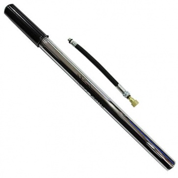 Zefal Classic Lapize Alloy Bicycle Pump Chromed Steel