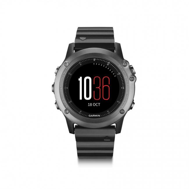 Garmin Fenix 3 Saphir Gps Multisport Clock Smartwatch Function