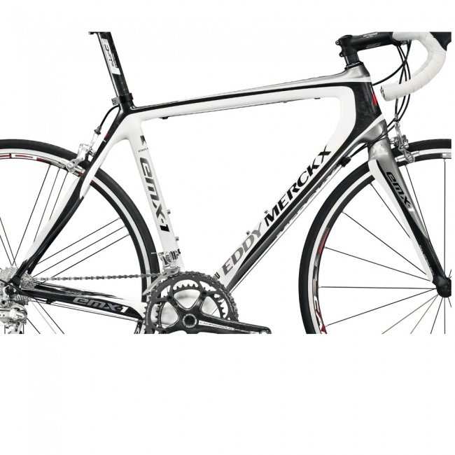 Eddy Merckx Frame Set Emx 1 Vk 1295 White Gray