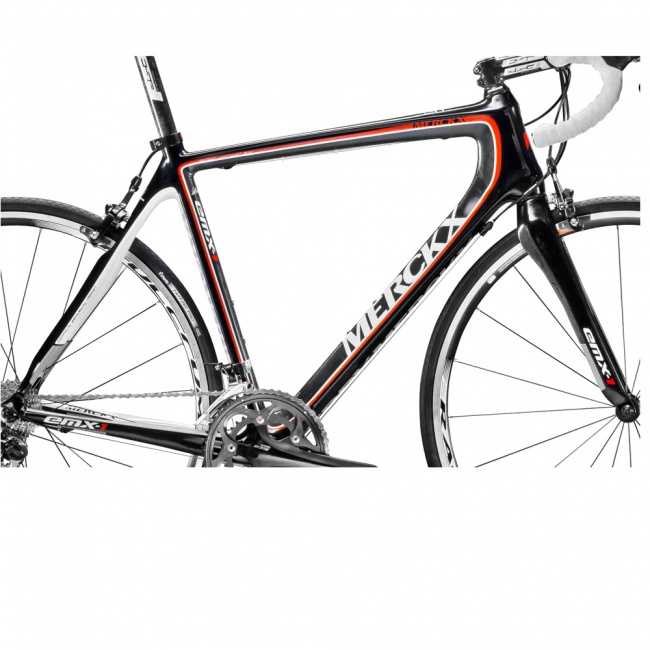 Eddy Merckx Frame Set Emx 1 Vk 1295 Red Carbon