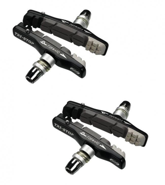 Set of 4 BBB Brake Shoe MTB TriStop Cartridge
