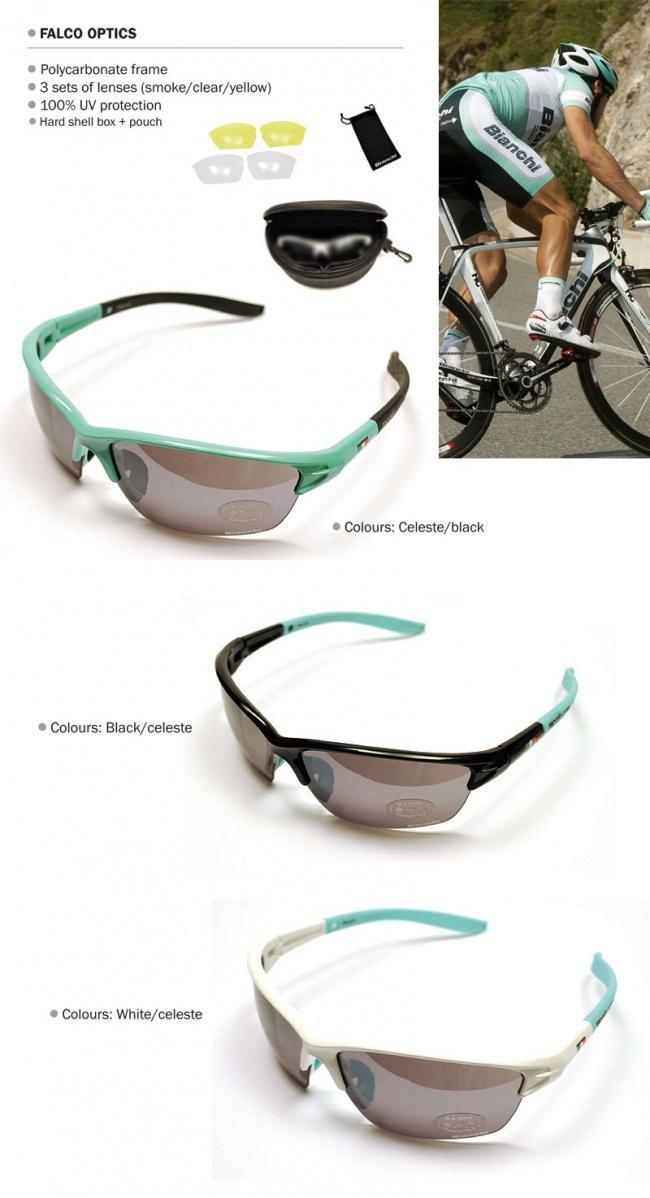 e2b22e07cf Bianchi Falco Optics Cycling Goggles Sunglasses