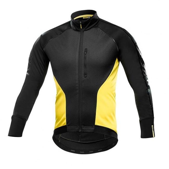 Mavic Cosmic Elite Thermo Jacket Black Yellow. Zoom 30c62b342