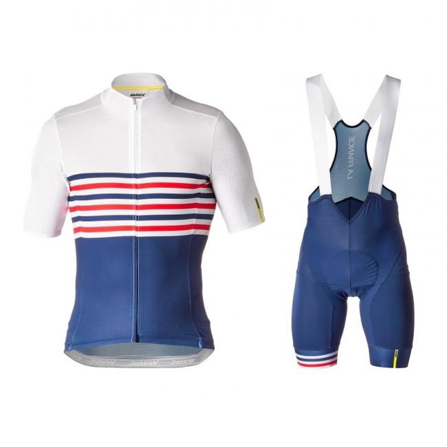 Mavic Ltd La France Cosmic Jersey Bib Short · Zoom b6ed6b580