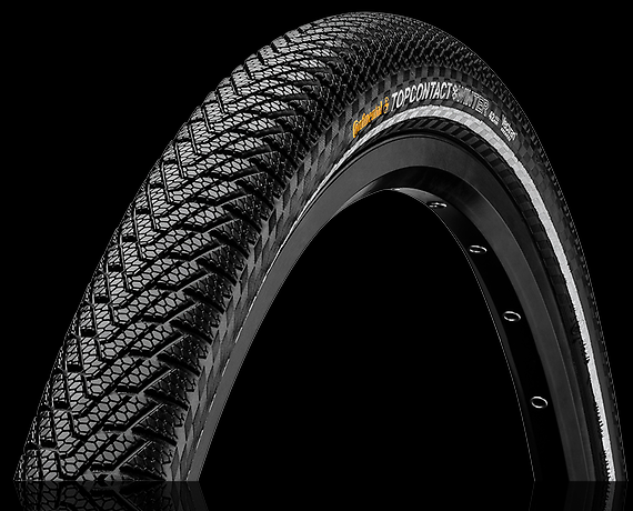 continental top contact winter ii premium reflex fold tire 55 559 26x2 2. Black Bedroom Furniture Sets. Home Design Ideas