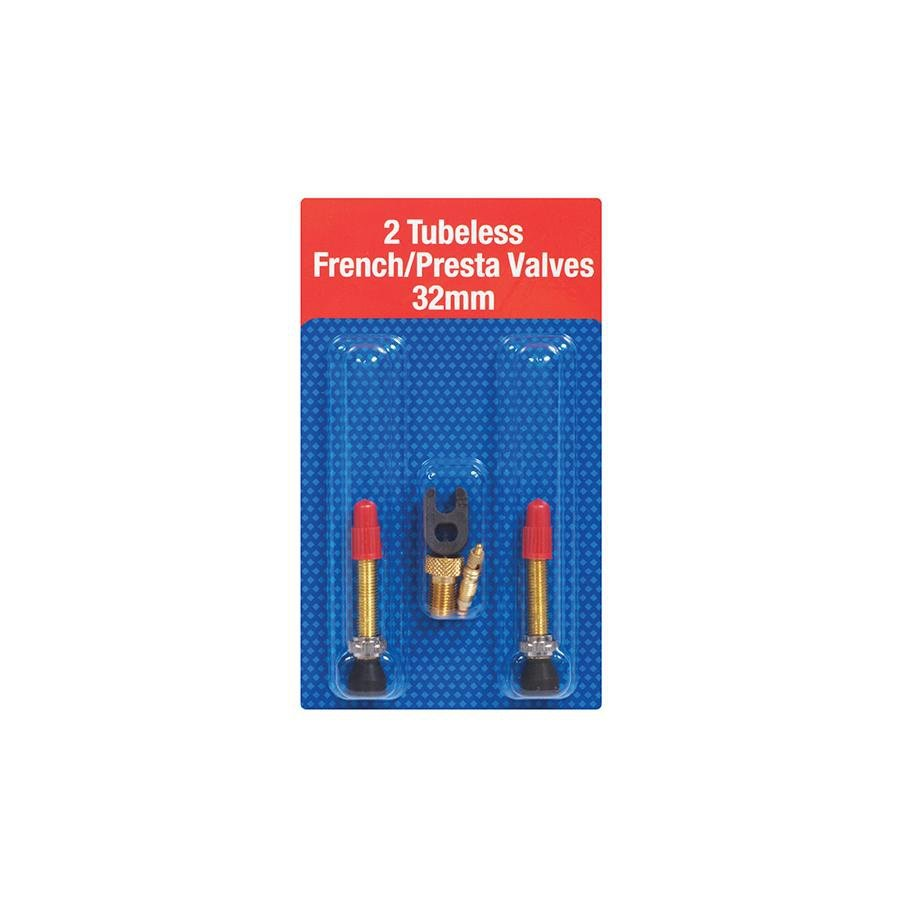 Joe/'s No-Flats 2 TUBELESS FRENCH//PRESTA VALVES 32 mm
