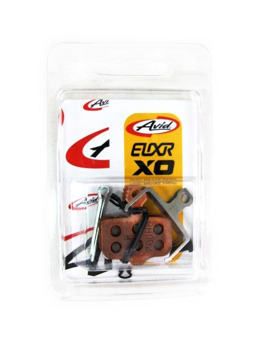 AVID SRAM Elixir Metal Sintered Disc Brake Pads with Steel Plate 00.5315.035.010