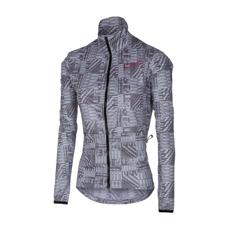 Castelli Women/'s Bellissima Grey Camo Cycling Top Size Small