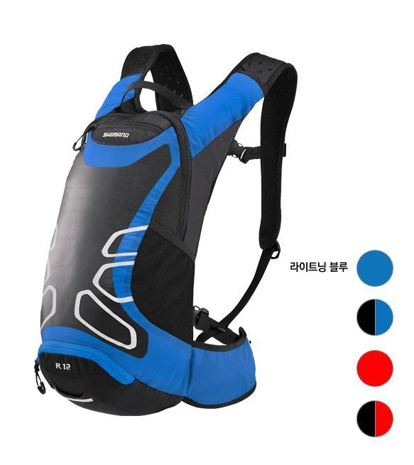 Shimano Rokko R12 Cycling Backpack 12L Lightning Blue 3bfd4c35782cb
