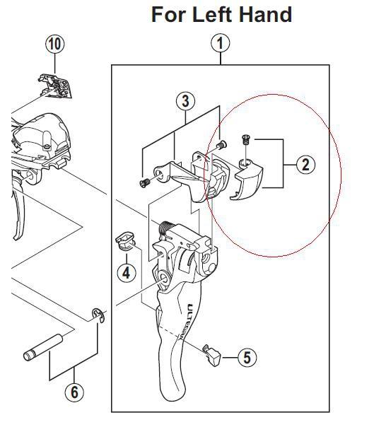 Shimano Ultegra Shifter Parts Diagram Manual Guide