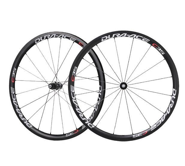 99fe4dd1255 Shimano WH-7900-C35-TU Dura Ace Road Bike Wheelset