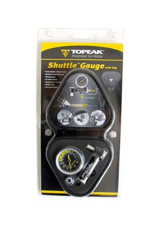 Topeak Shuttle Gauge Bicycle Pump TSUTG-02