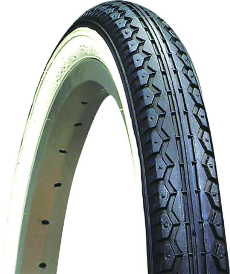 20x1.75 Cruiser Whitewall Bicycle Tires With Tubes