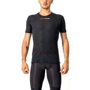 Castelli Prosecco Tech Short Black Short Sleeves Shirt  for Winter