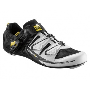 Mavic Galibier Road Bike Cycling Shoes White Black Yellow