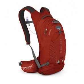 Osprey Raptor 10 Backpack Water Bladder 3L Madcap Red