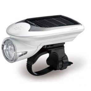 Cateye HL-EL020 solar cycling torch LED light recharable