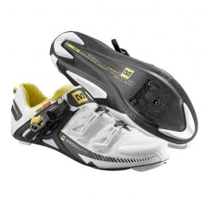 Mavic Zxellium Road Bike Cycling Shoes White Black