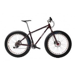 Anvil Fatgear Alpha XT M8000 2x11sp Fatbike Custom Full kit Red