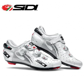 Sidi Wire Carbon Womens Road Bike Shoes Cycling White White