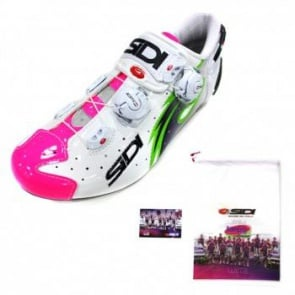 Sidi WIre Carbon Road BIke Shoes Lampre Team Edition