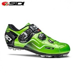 Sidi Cape MTB Shoes Bicycle Cycling Green Fluo