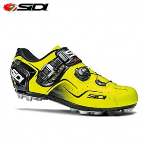 Sidi Cape MTB Shoes Bicycle Cycling Yellow Fluo