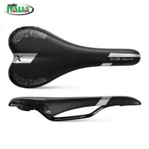 Selle Italia Qbik XC Flow Bicycle Seat Saddle Black Silver