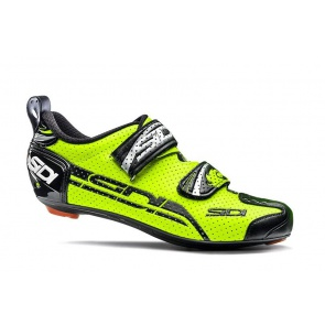 Sidi 2016 T-4 Air Carbon Triathron Shoes Yellow Black