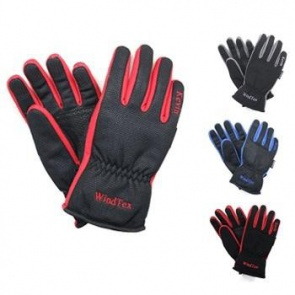 Kevin Wind Tex Winter Cycling Gloves-Blue Dot