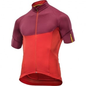 Mavic Ksyrium Pro Jersey - Fiery Red/Tibetan Red