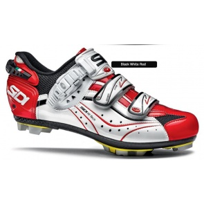 Sidi Eagle6 Carbon SRS cycling shoes Black White Red Vernice