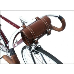 AlphaOne SB-001 Handle Bar Leather Bag