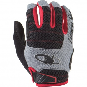 Lizard Skins Monitor AM Full Finger Gloves -Jet Black /Crimson