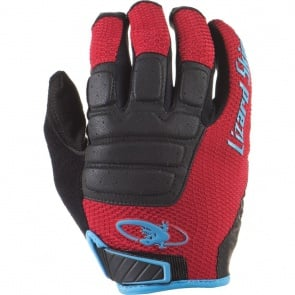 Lizard Skins Monitor HD Full Finger Gloves - Crimson/Black