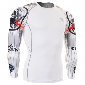 FIXGEAR CPD-W9 Skin-tight Compression Base Layer Shirt Training Workout Gym MMA